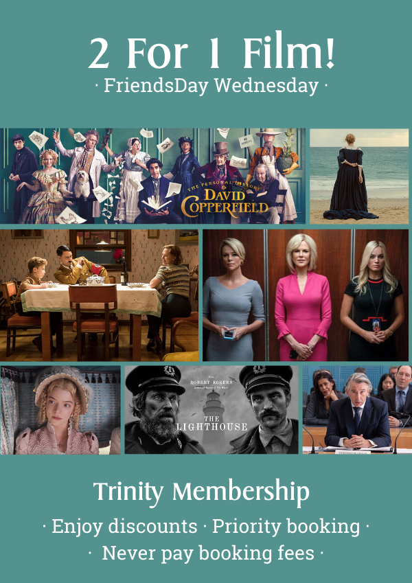 Join our membership at Trinity Theatre