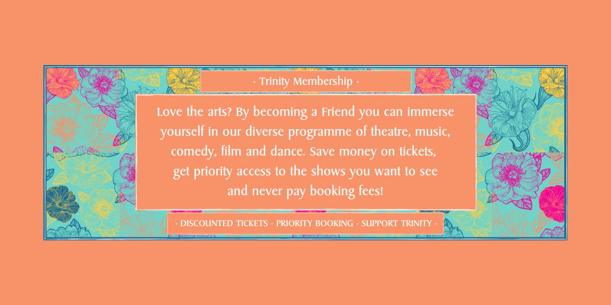 Trinity Theatre Membership Web Banner